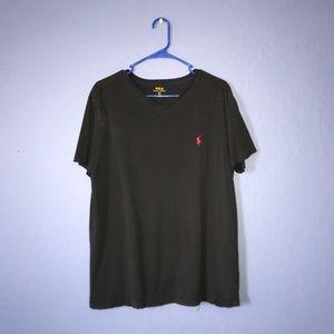 V-neck Polo shirt